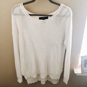 Forever 21 White Sweater